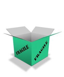 fragile box