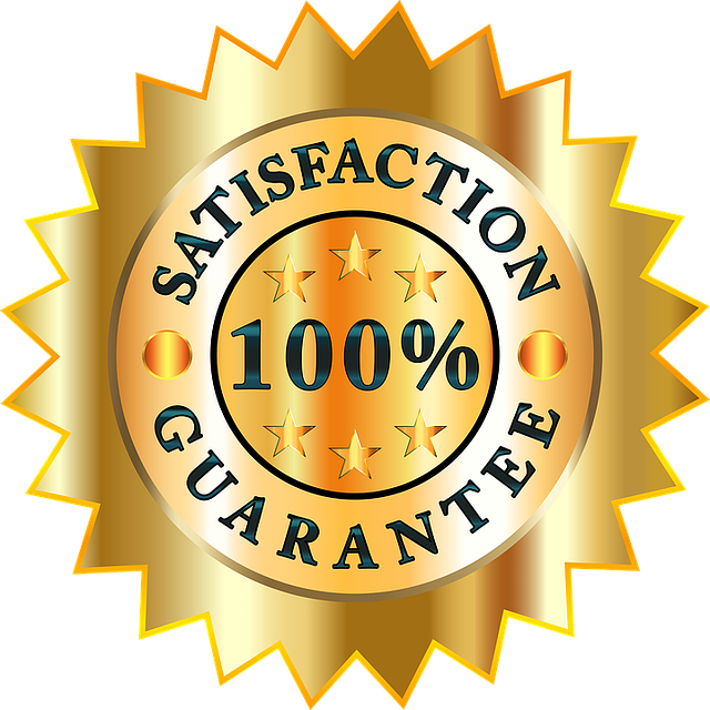 100% satisfaction guarantee sign for movers Durham