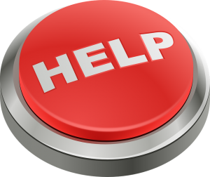 Press the help button to cope with moving stress quickly