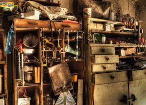 When you are decluttering you basement you will need a good pan in advance