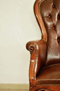 Store antique furniture properly by cleaning it before packing