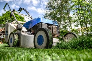 Packing lawnmower for move