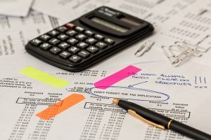 Calculating a moving insurance