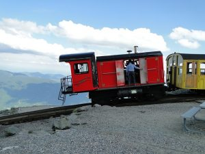 Mt. Washington Cog railway , one of the top tourist attractions in New Hampshire