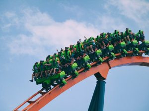 Theme park ride as one of the top tourist attractions in New Hampshire