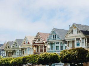 A nice looking neighborhood