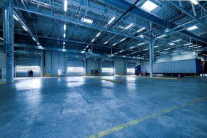 A spacious warehouse