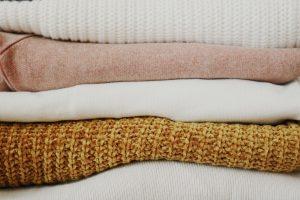 Folded soft materials