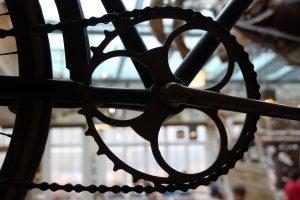 A bike's chainring