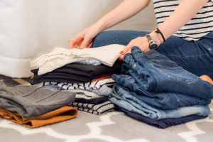 get rid of the items that you have not been wearing for a long time