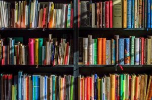 a bookstore - make new friends after moving to Bedford