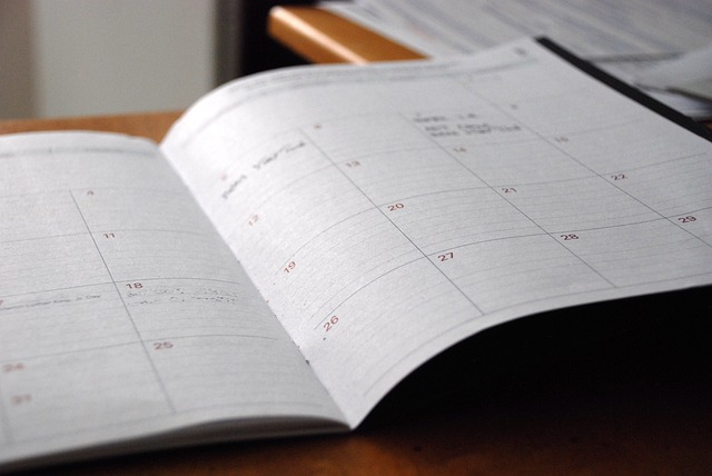 a calendar - moving to Atkinson NH