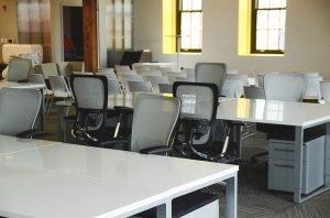 an office furniture