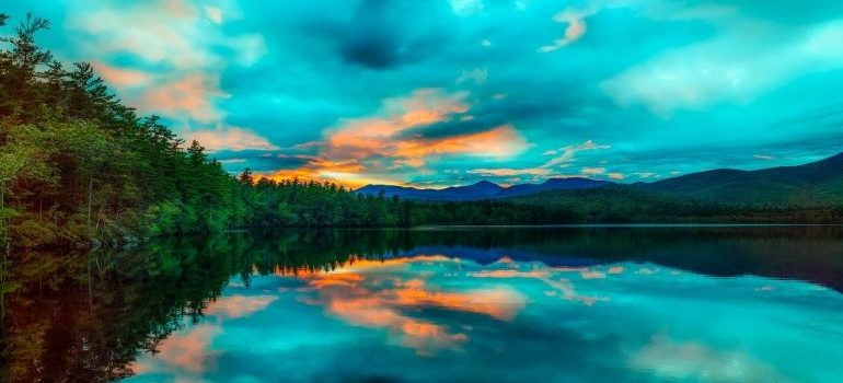 Chocoura Lake in New Hampshire
