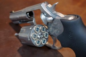 A revolver that shouldn't be placed in a storage unit