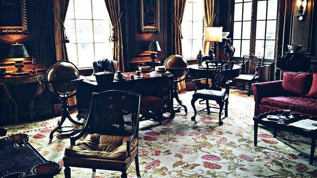 vintage room - Affordable home office design