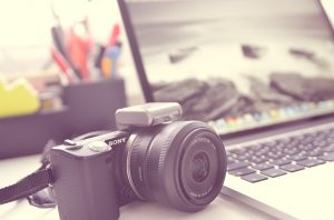 a photo camera