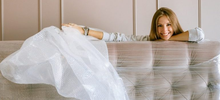 Make sure you stock up on enough bubble wrap before you start packing and moving bulky items.
