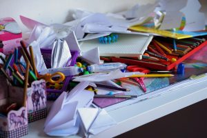 a clutter you need to get rid of before moving in the fall