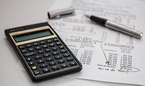 Calculator, paper and a pen