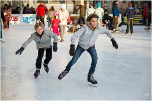 kids ice scating