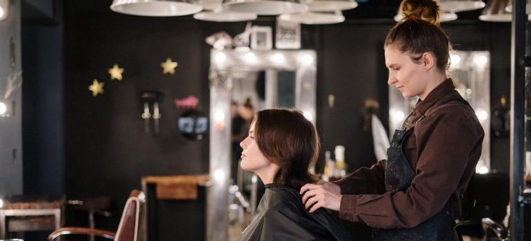 finding new beauty salon