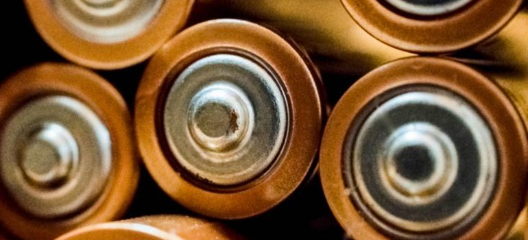 Old batteries.