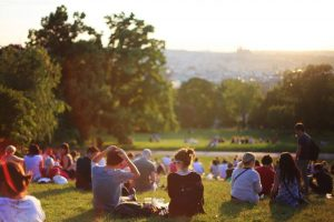 people enjoying parks is one of the reasons of moving to Concord this summer