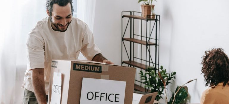 engage employees during an office move