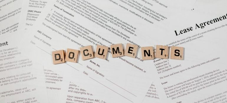 Preparing personal files for an interstate move