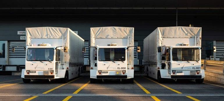 Moving trucks to consider when you hire professionals for your local move in Londonderry