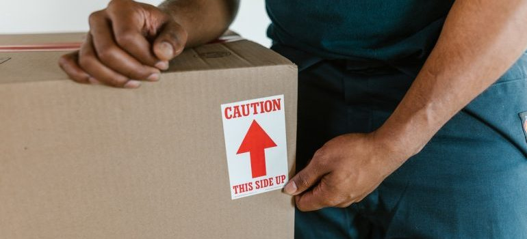 Make sure to label boxes before moving to Amesbury