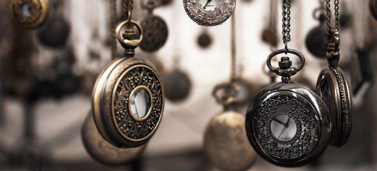 Hanging pocket watches